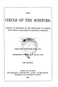 The Circle of the Sciences  Vertebrated animals PDF
