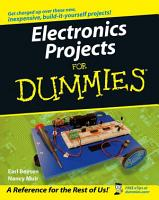 Electronics Projects For Dummies PDF