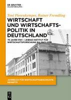 Wirtschaft und Wirtschaftspolitik in Deutschland PDF
