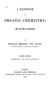 A handbook of organic chemistry: for the use of students