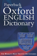 The Paperback Oxford English Dictionary