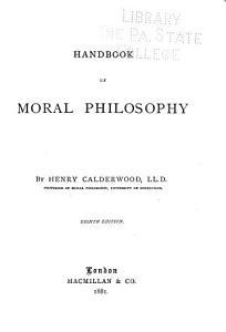 Handbook of Moral Philosophy PDF