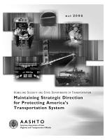 Maintaining Strategic Direction for Protecting America's Transportation System