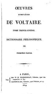 Oeuvres complètes de Voltaire: Volume31,Partie1