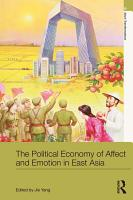 The Political Economy of Affect and Emotion in East Asia PDF