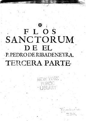 Flos sanctorum PDF