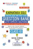 Oswaal Karnataka SSLC Question Bank Class 10 Social Science Chapterwise   Topicwise  For March 2020 Exam  PDF