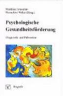 Psychologische Gesundheitsf  rderung PDF
