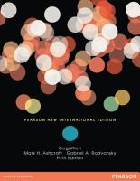 Cognition  Pearson New International Edition PDF