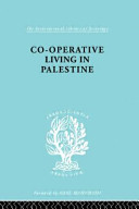 Co operative Living in Palestine PDF