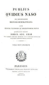 Publius Ovidius Naso: Epistolae, Volume 1