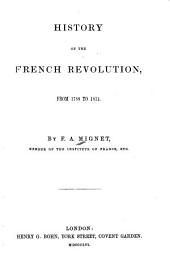 History of the French Revolution, from 1789-1814