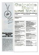 Getreide  Mehl und Brot PDF