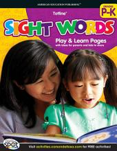 Sight Words, Grades PK - K