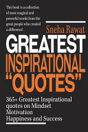 365  Greatest Inspirational Quotes on Mindset  Motivation  Happiness and Success PDF