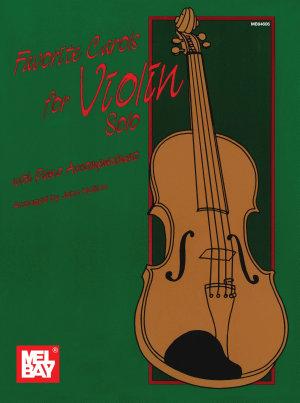 Favorite Carols for Violin Solo