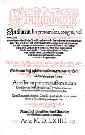 Einstandtrecht, in Latein Ius protomiseos, congrui, vel retractus genannt: in vier Bücher gezogen, darinn nach notturfft vermeldet waher solcher Kauffs einstandtrecht sein ursprung, in was für Gütern, bey welchem und wider welche Personen es statt hab oder nicht ...