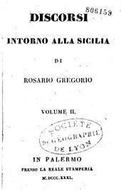 Discorsi intorno alla Sicilia
