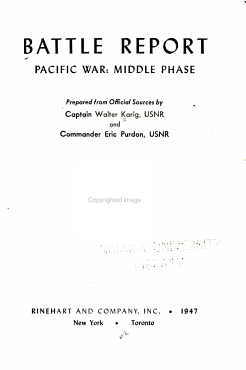 Battle Report  Pacific War  middle phase PDF