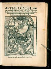 Theodosii De Sphaericis: libri tres