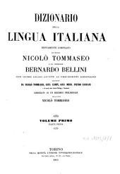 Dizionario della lingua italiana: Volume 3,Parte 3