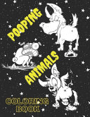 Pooping Animals Coloring Book