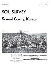 Soil Survey Seward County, Kansas