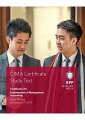 CIMA Fundamentals of Management Accounting