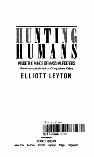 Hunting Humans PDF