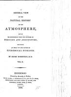 A General View of the Natural History of the Atmosphere PDF