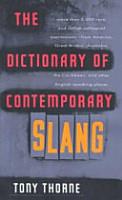 The Dictionary of Contemporary Slang PDF