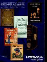 Heritage Rare Books & Manuscripts Auction Final Session # 683