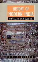 History of Modern India  1707 A  D  to 2000 A  D PDF