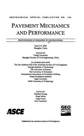 Pavement Mechanics and Performance PDF
