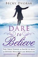 Dare to Believe PDF