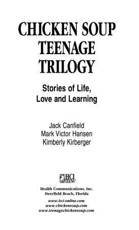 Chicken Soup Teenage Trilogy PDF