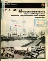 Petersburg National Battlefield  General Management Plan PDF