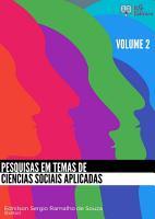 PESQUISAS EM TEMAS DE CI  NCIAS SOCIAIS APLICADAS   VOLUME 2 PDF