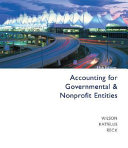 Accounting For Governmental And Nonprofit Entities With City Of Smithville Book PDF