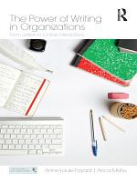 The Power of Writing in Organizations