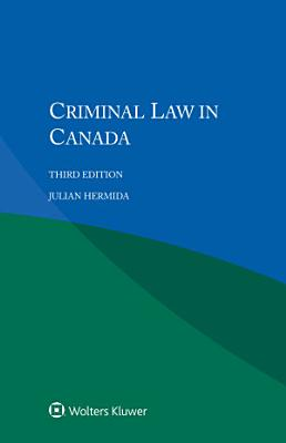 Criminal Law in Canada