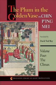 The Plum in the Golden Vase or  Chin P ing Mei  Volume Four Book