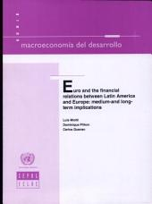 Euro and the Financial Relations Between Latin America and Europe: Medium-and Long-term Implications