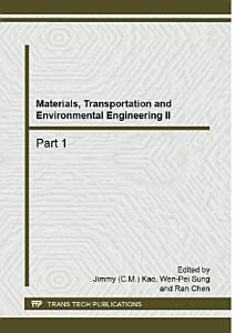 Materials  Transportation and Environmental Engineering II