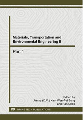 Materials  Transportation and Environmental Engineering II PDF