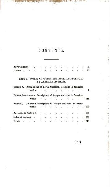 Download Bibliography of North American Conchology Previous to the Year 1860 Book