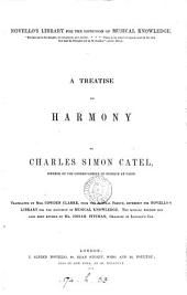 A treatise on harmony, tr. by mrs C. Clarke