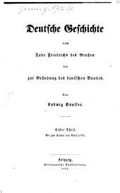 Deutsche Geschichte vom Tode Friedrichs des Großen bis zur Gründung des deutschen Bundes: Bis zum Frieden von Basel (1795)