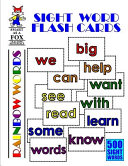 Sight Word Flash Cards Book