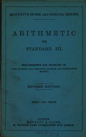 Arithmetic for standard i (ii). Standard iii (-vii) [in 4 books].